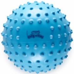 Balle tactile classique bleue