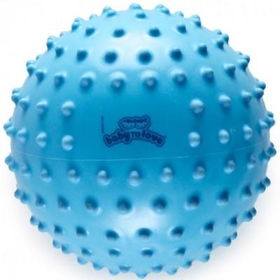 Balle tactile classique bleue  par BabyToLove