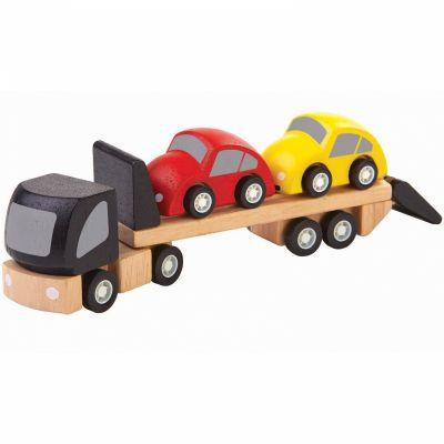 Camion transport de voitures (3 pièces) Plan Toys