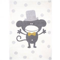 Tapis rectangulaire singe Polka Monkey (120 x 170 cm)