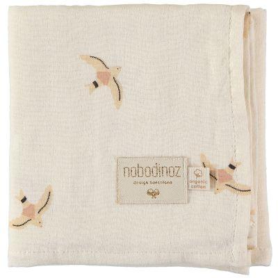 Lange Haiku birds (70 x 70 cm)  par Nobodinoz
