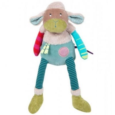 Peluche mouton Les jolis pas beaux (30 cm)  par Moulin Roty