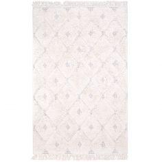 Tapis rectangulaire écru Homy (120 x 170 cm)