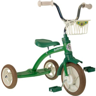 Tricycle Super LucyPrimavera avec panier avant 10'' vert Italtrike