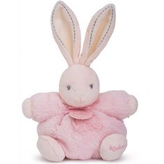 Coffret peluche P'tit lapin rose Perle (18 cm)