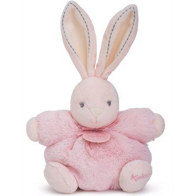 Coffret peluche P'tit lapin rose Perle (18 cm) Kaloo