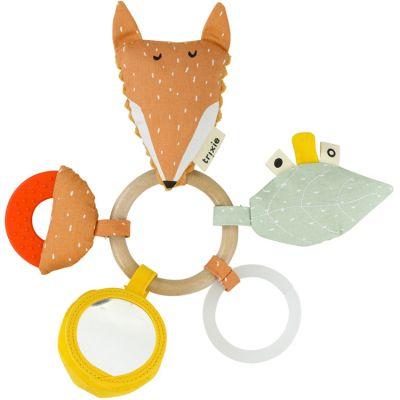 Anneau hochet d'activités renard Mr. Fox  par Trixie