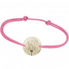 Bracelet cordon enfant Précieuse (or jaune 375°)
