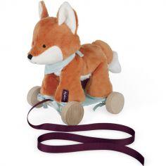 Jouet à tirer Paprika le renard