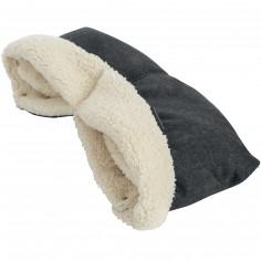 Moufles pour poussette nomad black