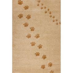 Tapis Empreintes beige (100 x 150 cm)