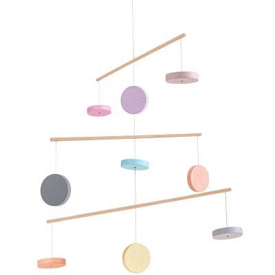 Mobile pastel  par Plan Toys