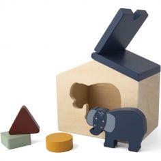 Maison à formes en bois Mrs. Elephant