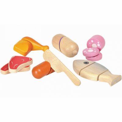 Assortiments d'aliments à couper  par Plan Toys