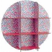 Etagère ronde petites fleurs Salomé - Little big room by Djeco