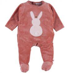 Pyjama chaud lapin Lina & Joy (1 mois)