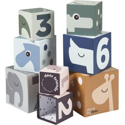 Cubes à empiler Deer Friends (8 cubes)  par Done by Deer