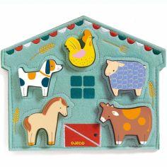 Puzzle à encastrement Mowy (5 pièces)