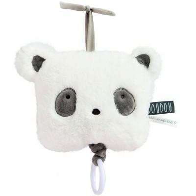 Peluche musicale panda Aussi doux Doudou et Compagnie
