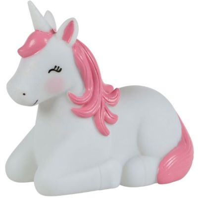 Veilleuse Betty la licorne arc-en-ciel (14,5 cm)  par sass & belle