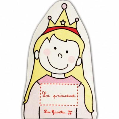 Marionnette Princesse (personnalisable)  par Les Griottes