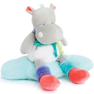 Peluche Tropi'cool Hippopotame (55 cm) Doudou et Compagnie