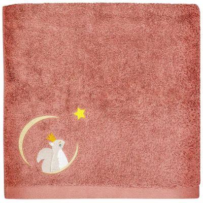 Serviette de bain brique Écureuil personnalisable (70 x 140 cm)  par L'oiseau bateau