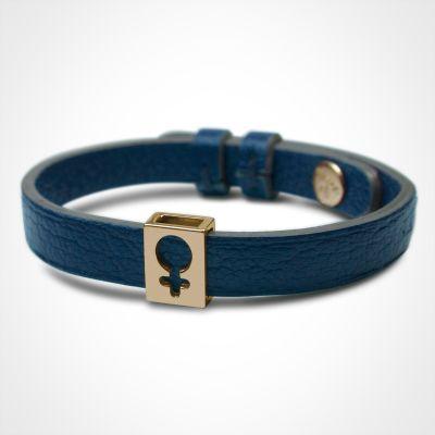Bracelet Lovely simple personnalisable (or jaune 750°)  par Mikado