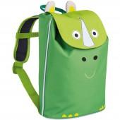 Mini sac à dos Duffle rhinocéros  Wildlife vert - Lässig