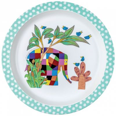 Assiette plate Elmer  par Petit Jour Paris