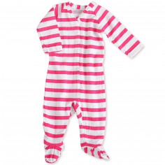 Pyjama léger Pink Blazer stripe (6-9 mois : 63 à 68 cm)