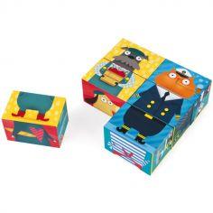 Puzzle cube Kubkid Chiens et chats (6 cubes)