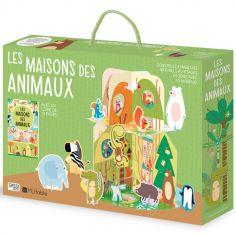 Livre et maquette 3D Les maisons des animaux