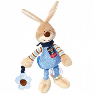 Peluche d'activités lapin Semmel Bunny (27 cm) Sigikid