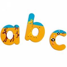 Lettres magnétiques Safari (60 lettres)