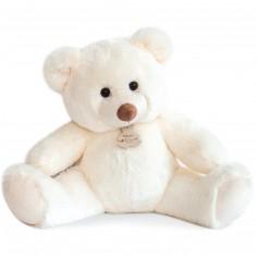 Peluche bel'ours blanc (50 cm)