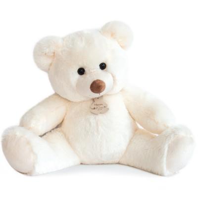 Peluche bel'ours blanc (50 cm) Histoire d'Ours