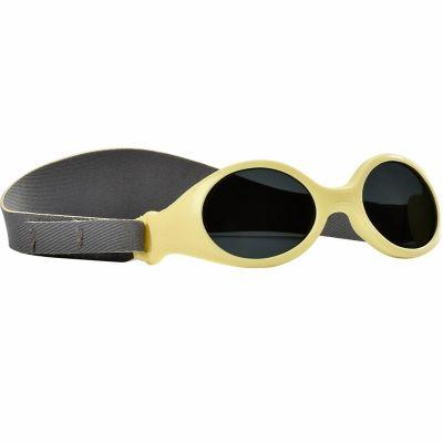 Lunettes de soleil bandeau jaunes (Taille XS : naissance)  par Béaba