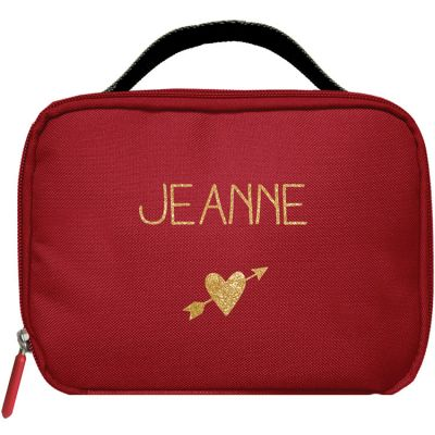 Sac isotherme enfant rouge (personnalisable)
