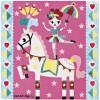 Kit de cartes à pailleter danseuses - Janod