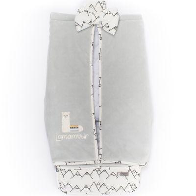 Porte couches gris Lamamour  par Nougatine