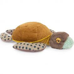 Peluche Petite tortue Tout autour du monde (36 cm)