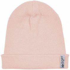 Bonnet de naissance en coton Ciumbelle Sensitive rose clair (0-6 mois)