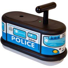Porteur  La Cosa camion de police bleu et noir