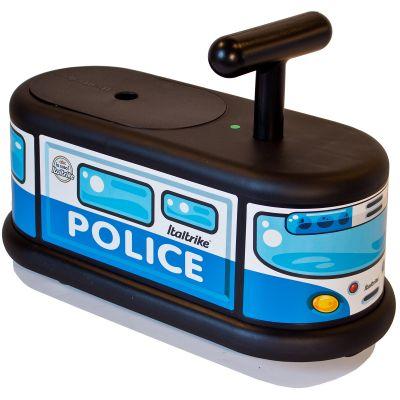 Porteur  La Cosa camion de police bleu et noir Italtrike