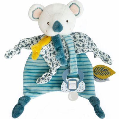 Coffret doudou attache sucette Yoca le koala (20 cm)  par Doudou et Compagnie