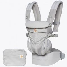 Porte-bébé Omni 360 Cool Air Mesh gris perle