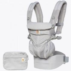 Porte bébé Omni 360 Cool Air Mesh gris perle