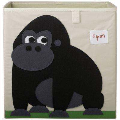 Cube de rangement Gorille (33,5 x 33,5 cm)  par 3 sprouts