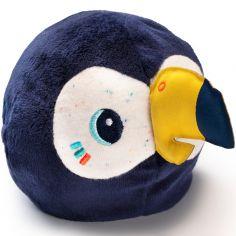 Hochet peluche réversible Pablo le toucan (10 cm)